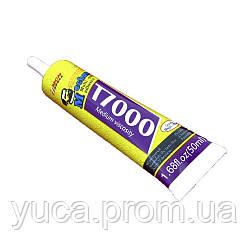 Клей силиконовый MECHANIC T7000, чёрный, 50ml, в тюбике с дозатором