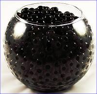Гидрогель черный аквагрунт, растущие шарики для флориста 500шт