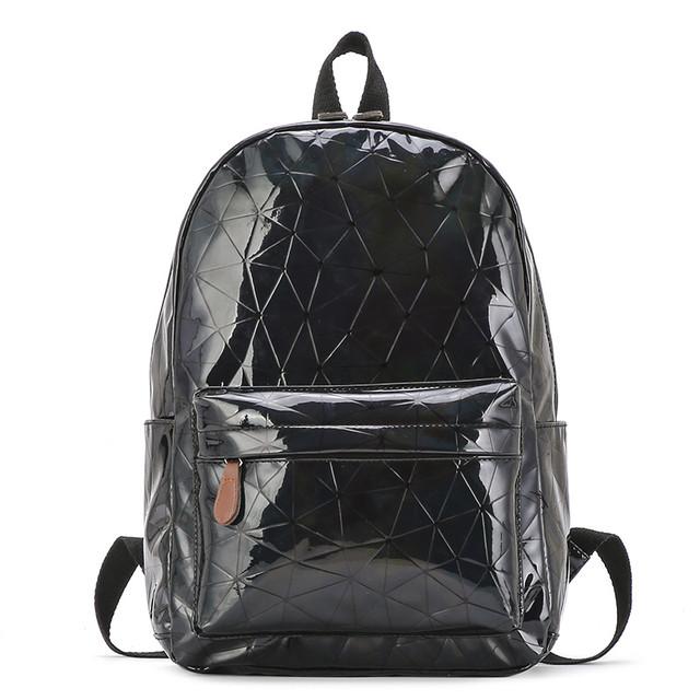 Голограммный рюкзак Геометрія чорний