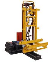 Строительный подъемник мачтовый секционный с выкатной платформой ПМГ г/п 500 кг . Мачтовые подъёмники H-100 м, фото 3