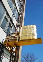 Строительный подъемник мачтовый секционный с выкатной платформой ПМГ г/п 500 кг . Мачтовые подъёмники H-100 м, фото 2