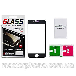 Защитное стекло для APPLE iPhone 6 (0.3 мм, 5D чёрное) ТОП