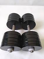 Гантели металлические 2 шт по 40 кг