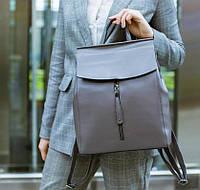 Женская сумка рюкзак , трансформер кожаный купить украина