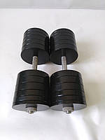 Гантели металлические 2 шт по 50 кг