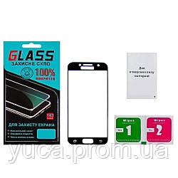 Защитное стекло для SAMSUNG A320 Galaxy A3 (2017) (0.3 мм, 3D чёрное)