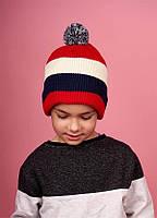 Шапка  для мальчиков  Себастьян оптом размер  one size(50-52), фото 1