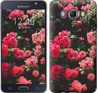 """Чехол на Samsung Galaxy J5 (2016) J510H Куст с розами """"2729c-264-15168"""""""