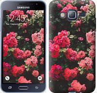 "Чехол на Samsung Galaxy J3 Duos (2016) J320H Куст с розами ""2729c-265-15168"""