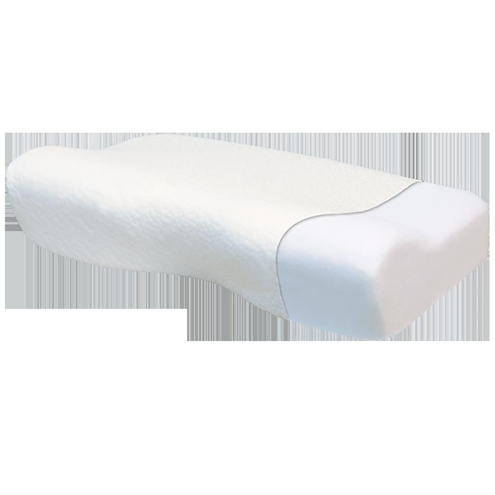 Подушка ортопедическая с эффектом памяти, с выемкой под голову и плечо