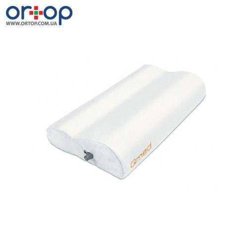 Ортопедическая подушка Qmed с воздушной камерой Memory Air Pillow