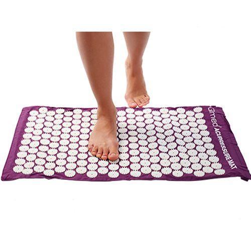 Коврик массажный Acupressure mat, фиолетовый, фото 1