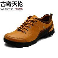 Мужские кожаные Gucci Tianlun ботинки  2 цвета