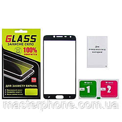Защитное стекло для SAMSUNG J400 Galaxy J4 (2018) Full Glue (0.3 мм, 2.5D, чёрное)