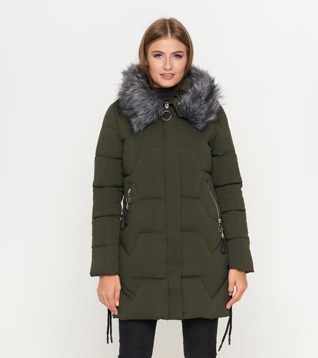 Описание 11 Kiro Tokao   Куртка женская зимняя 6372 оливковая. Страна  бренда  Япония ... ed5e2c625bf