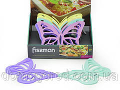 Підставка FISSMAN  під гаряче з магнітом 21х15 см у формі метелика (24 шт. в промо кор.) (силікон) (7268_F)