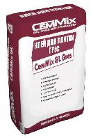 """Клей для плитки для облицовки плиткой с керамограниту  Грес CeмMix """"GL Gres"""""""
