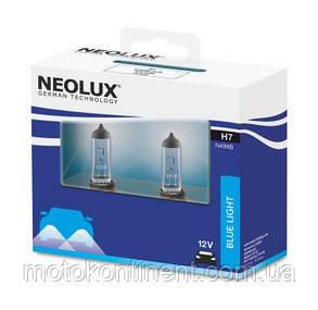 H7 Автолампа  (неолюкс) NEOLUX H7 12V 55W 4000K PX26D / BLUELIGHT - БЕЛО-ГОЛУБОЙ СВЕТ, фото 2