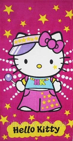 Полотенце пляжное Hello Kitty, фото 2