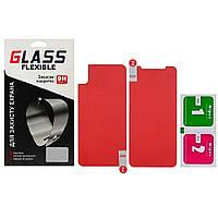 Защитное оргстекло для APPLE iPhone XS/X комплект 2 шт.(0.2мм) Flexible Glass