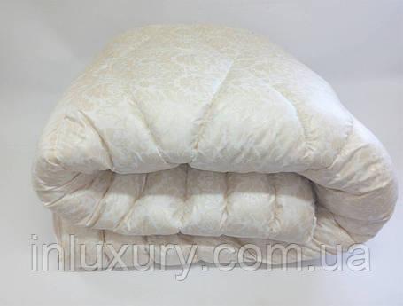 "Одеяло лебяжий пух ""Узоры"" евро, фото 2"