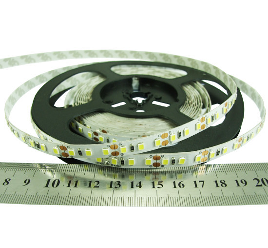 Светодиодная лента 24вольт 2835-120-IP33-CWd-8-24 RN08C0TC-B  8.6Вт  818лм Рішанг 10449