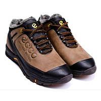 Чоловічі шкіряні зимові черевики Ecco Natural Motion Winter. Розмір 41 4173a1c3e6500