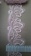 Кружево с ресничками декоративное