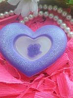 Мыло ручной работы * Роза в сердце*