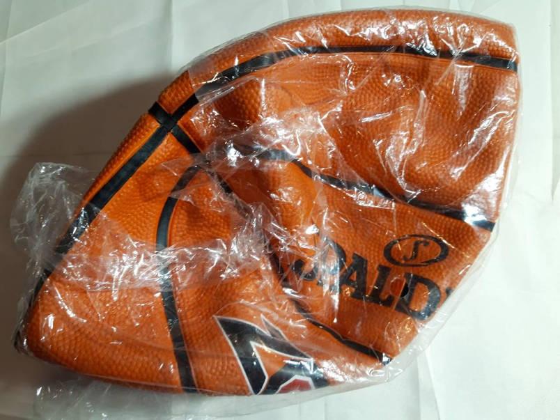Мяч баскетбольный резиновый №7 SPALDING ZONE BRICK  Реплика, фото 2