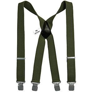 Bow Tie House Подтяжки хаки мужские Х4 cm