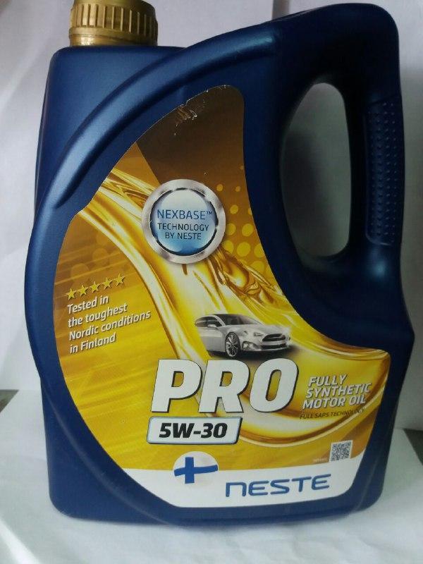 Neste City Pro LL (Pro) 5W30 (API SL/CF) 4л Масло моторне