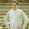 Вышитая сорочка двойная вышивка | Вишита сорочка подвійна вишивка