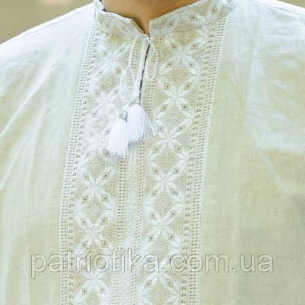 Вышитая сорочка двойная вышивка   Вишита сорочка подвійна вишивка, фото 2