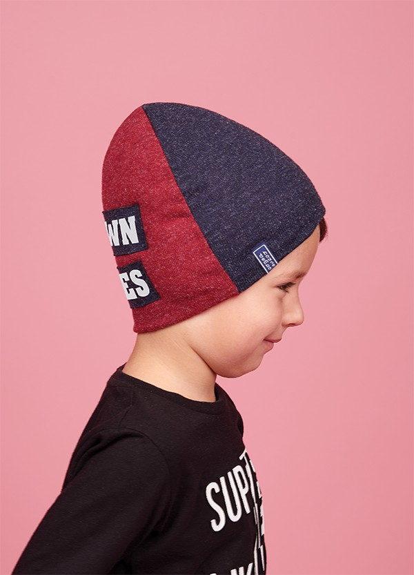 Зимняя шапка  для мальчиков СУЗУМУ  оптом размер 50-52