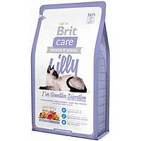 Корм Brit Care Cat Lilly I have Sensitive Digestion для кошек с чувствительным пищеварением, 0,4 кг