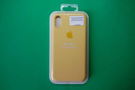 """Apple Silicone Case"" для iPhone X Mountain"