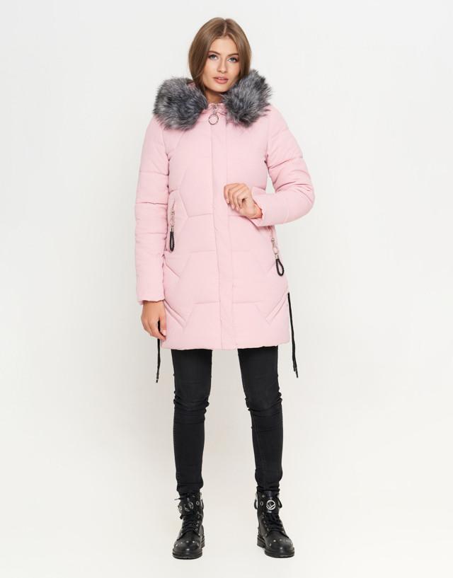 Описание Киро Токао 6372   Женская куртка зимняя пудра. Бренд - Kiro Tokao af27541d1e9