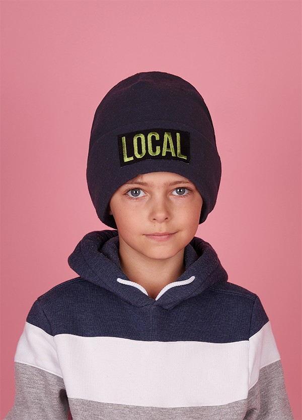 Зимняя шапка  для мальчиков БОНДАЙ  оптом размер 52-54