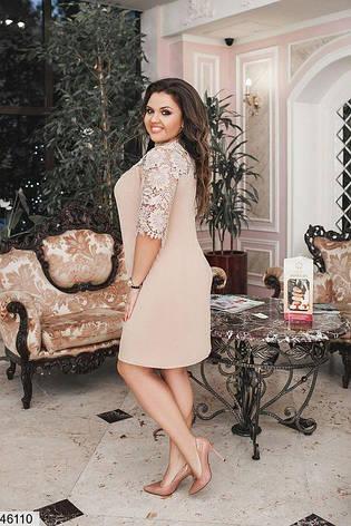 Нарядное женское платье больших размеров 48-50, 52-54, 56-58, фото 2
