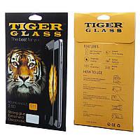 Защитное стекло TigerGlass для APPLE iPhone 7 Anti-broken (0.2 мм, 2.5D, Full Screen, белое)