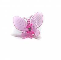 Зажим для орхидеи бабочка цвет микс