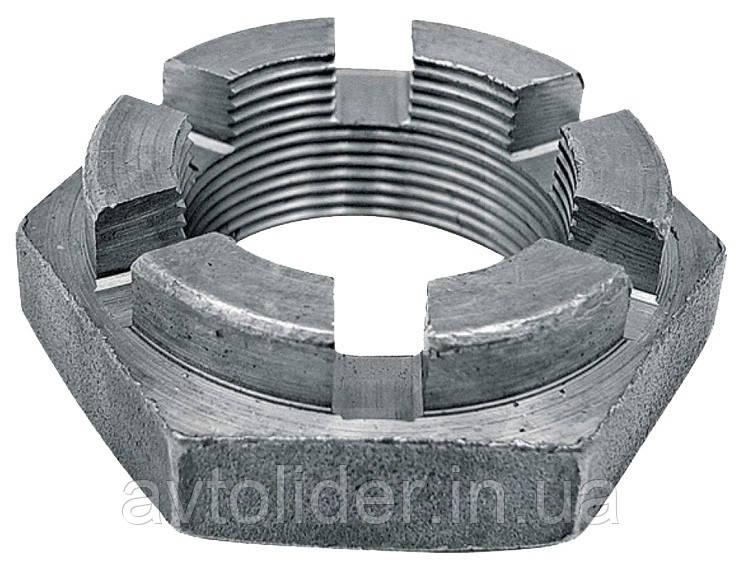 DIN 937 (ГОСТ 5919-73; ISO 7038) : нержавеющие гайки низкие прорезные и корончатые