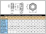 DIN 937 (ГОСТ 5919-73; ISO 7038) : нержавеющие гайки низкие прорезные и корончатые, фото 3