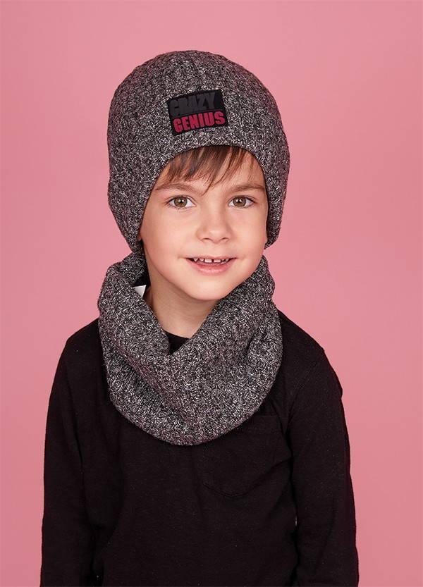 Зимняя шапка (набор) для мальчиков КЕРО  оптом размер 52-54