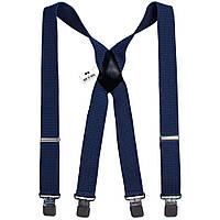 Bow Tie House Подтяжки мужские синий джинс Х4