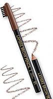 Стойкий карандаш для бровей темно -коричневый №2