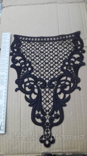 Вставка сетка декоративная черная