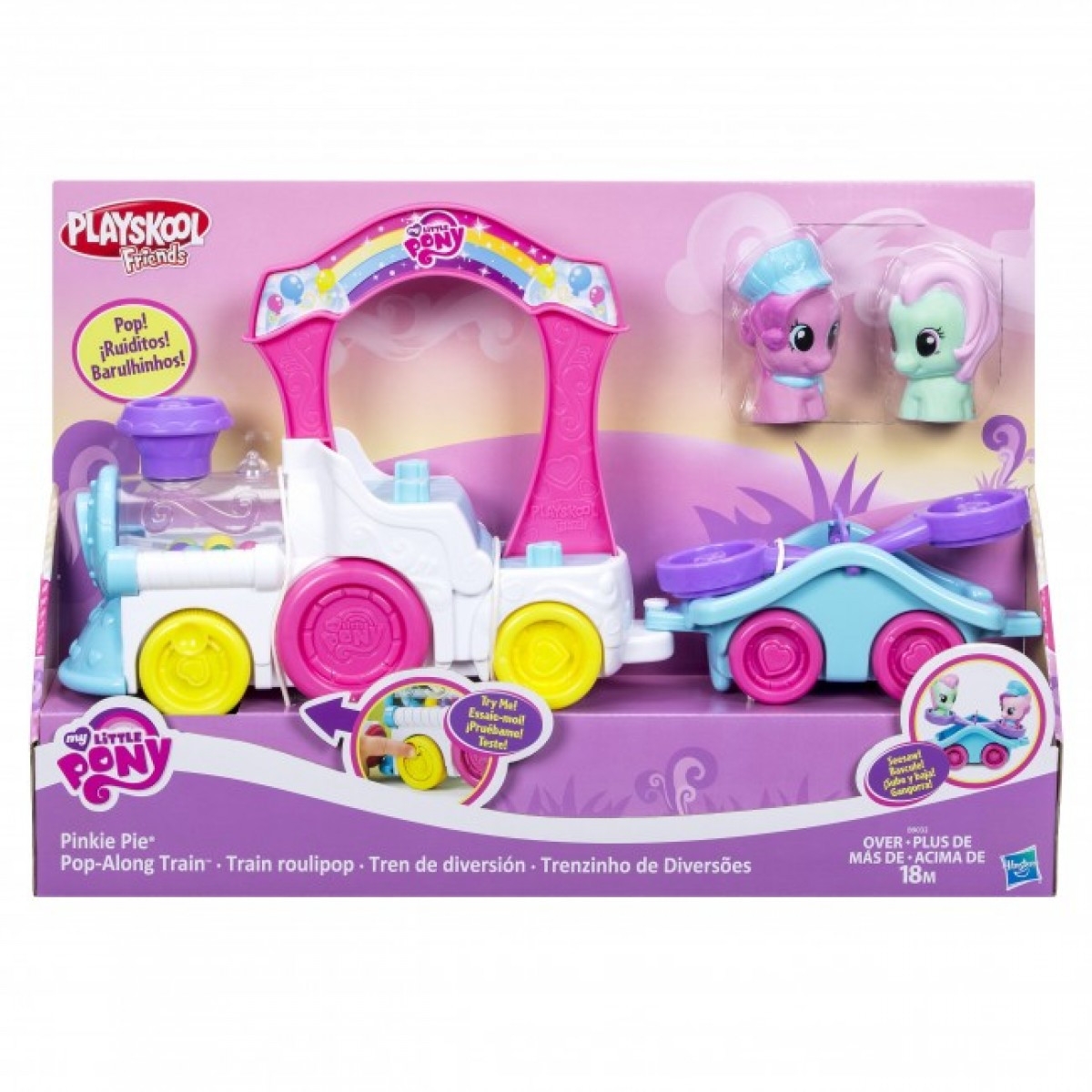 Поезд My Little Pony Hasbro B9032