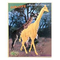 Деревянные 3D пазлы Маленький жираф (M020)